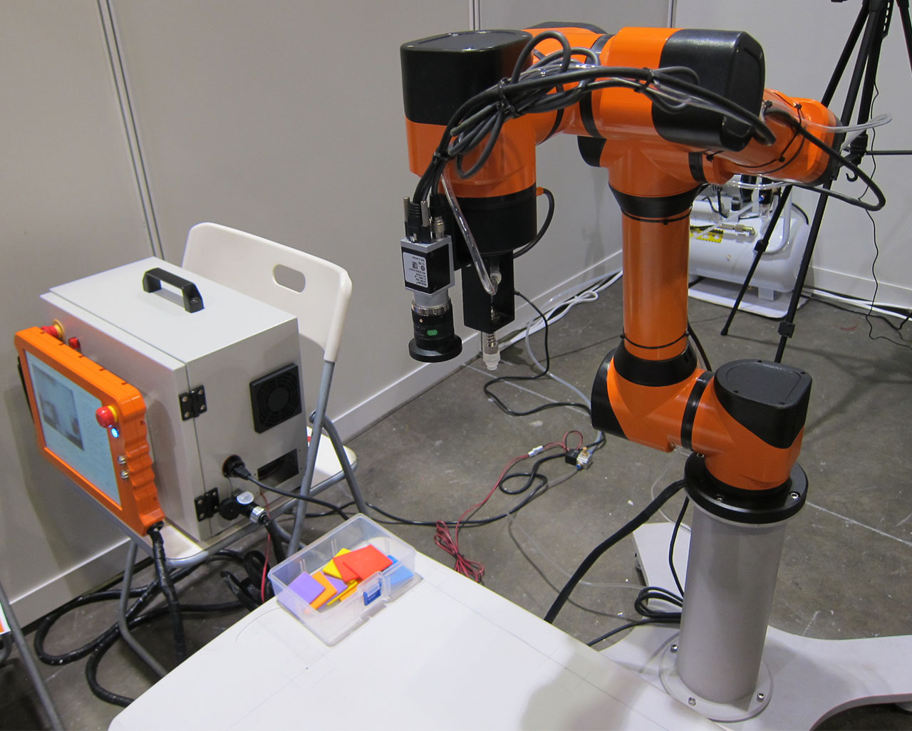 Smokie Robotics' OUR-1 low-cost industrial robot
