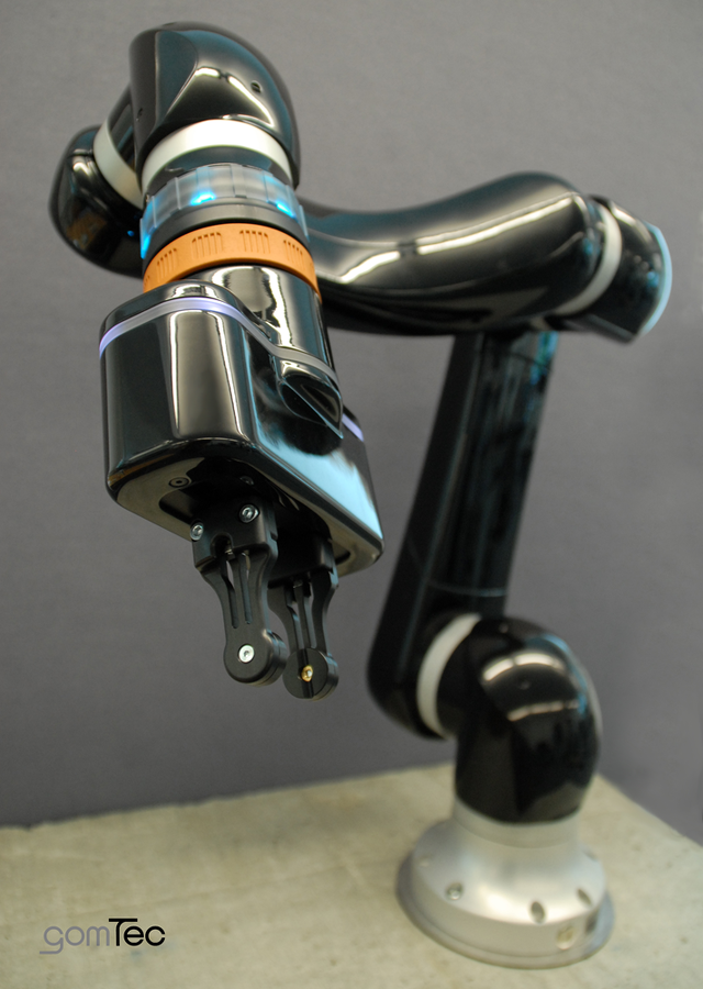 Gomtec's Roberta collaborative robot arm
