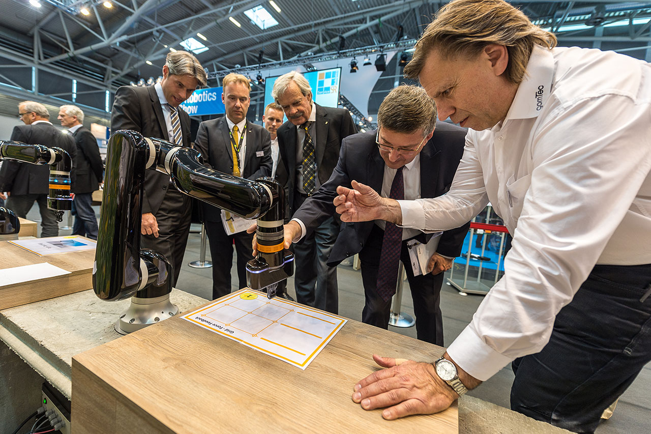 Gomtec at Automatica 2014